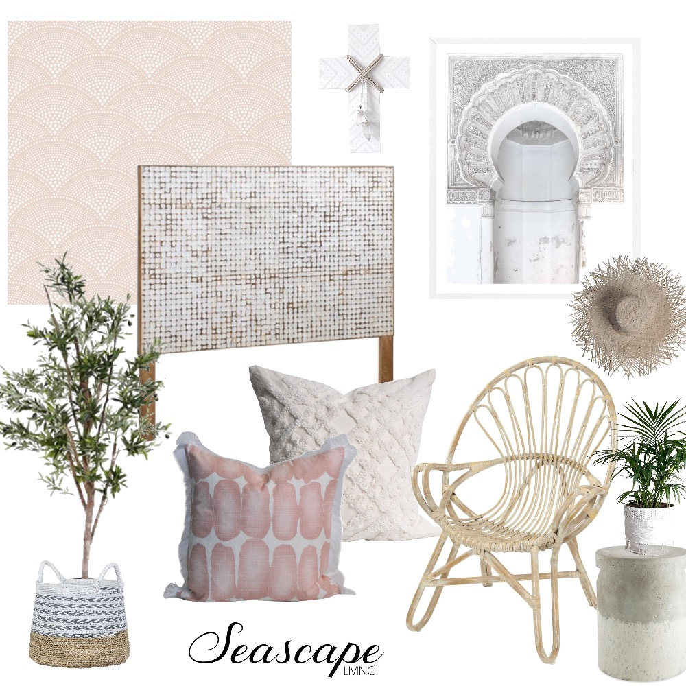 Moroccan Blush Mood Board by Seascape Living on Style Sourcebook