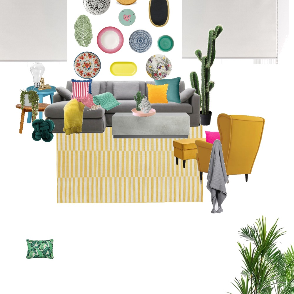 Living Room Interior Design Mood Board by jasminejanabi on Style Sourcebook