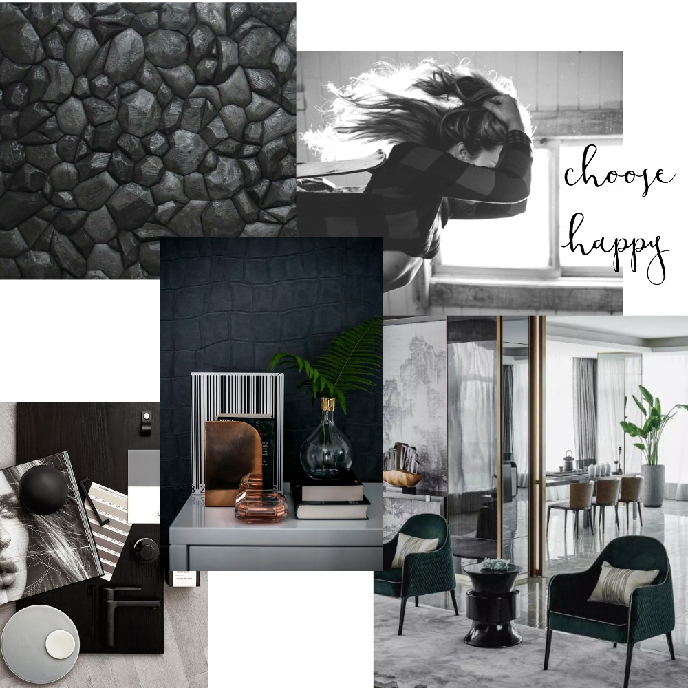 Choose Happy Mood Board by Samantha on Style Sourcebook