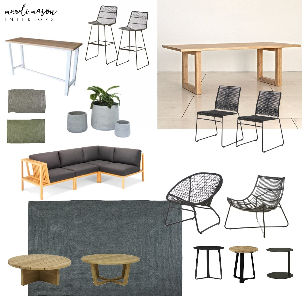 Outdoor area Mood Board by MardiMason on Style Sourcebook