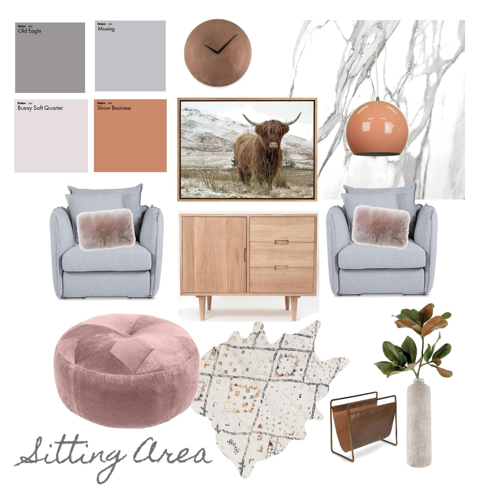 Chic Sitting Area Mood Board by thedecoratedlife on Style Sourcebook