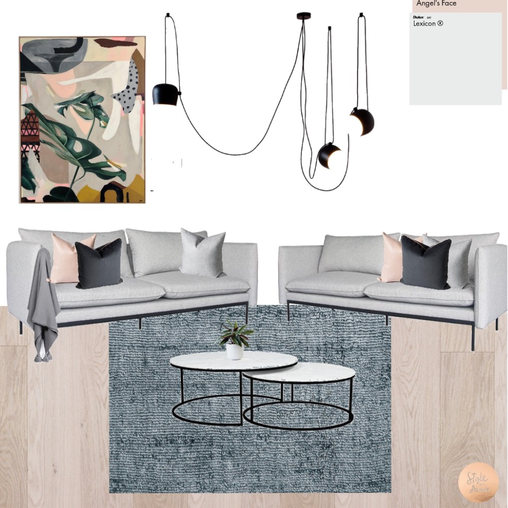 Contemporary Living Mood Board by Style My Abode Ltd on Style Sourcebook