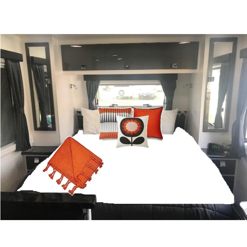 Sue tan orange bedroom Mood Board by Rachaelm2207 on Style Sourcebook
