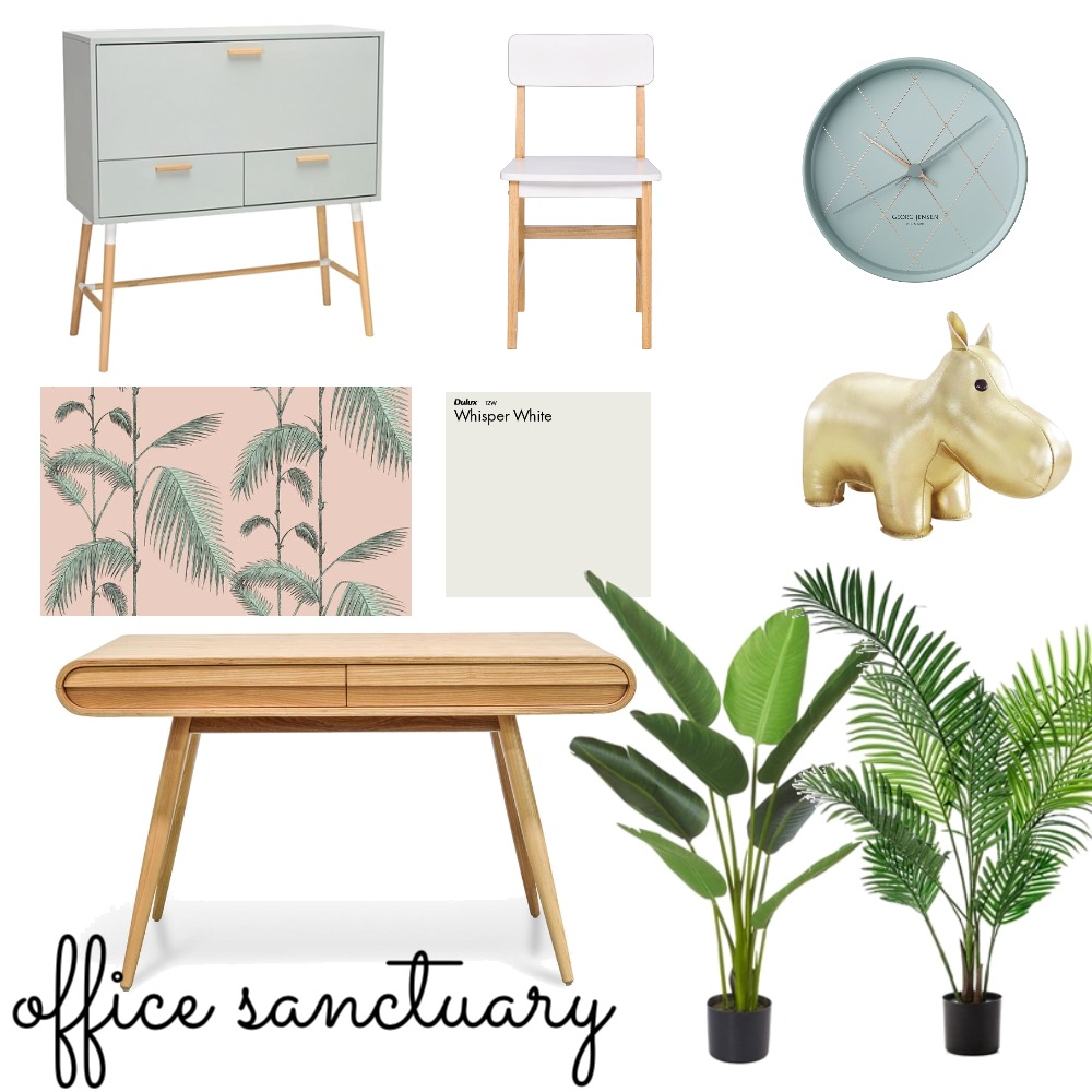 Office Sanctuary Mood Board by Shanna McLean on Style Sourcebook
