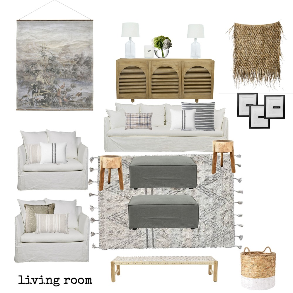 Display home Family Room Mood Board by The Secret Room on Style Sourcebook