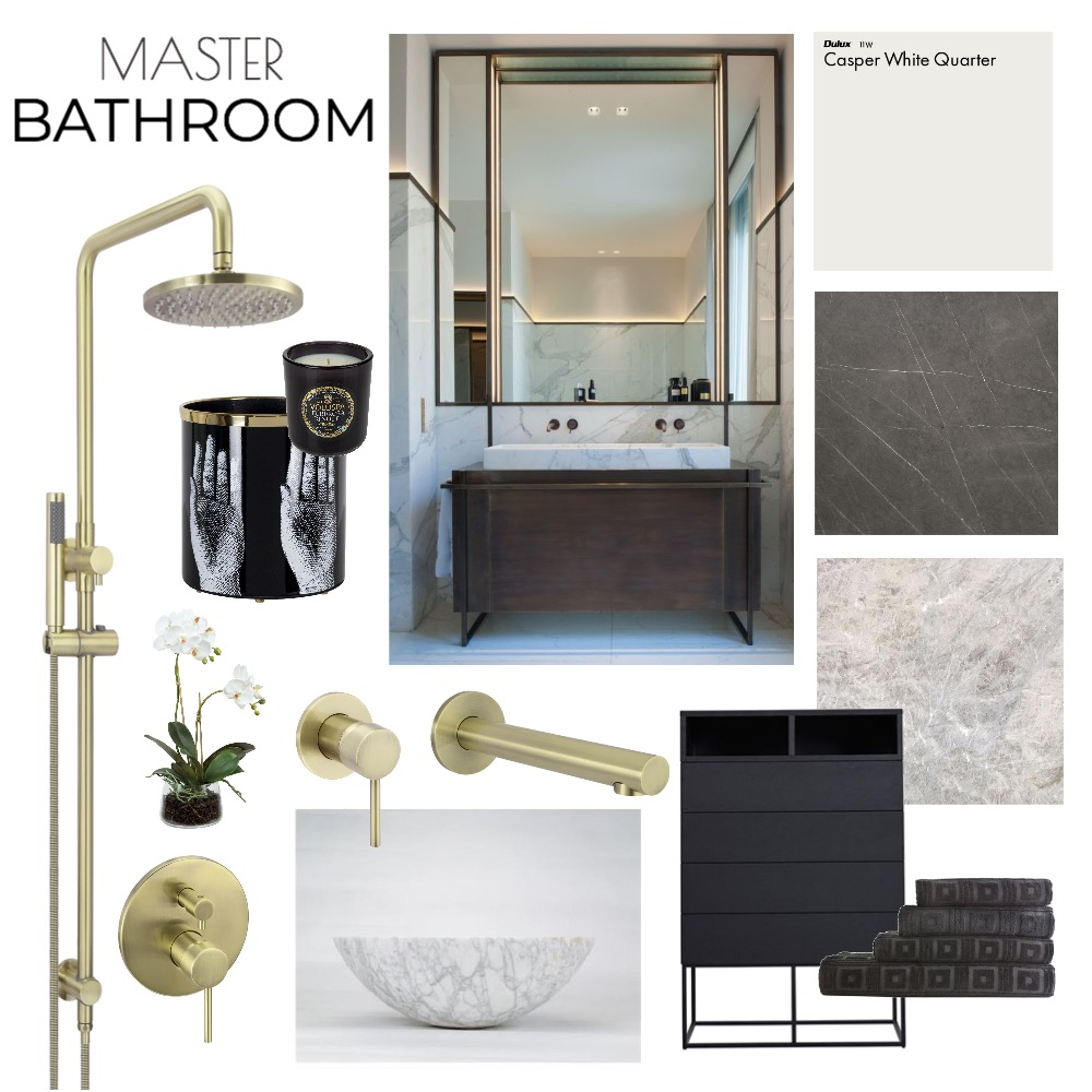Hotel Style Master Bathroom Mood Board by stefzec on Style Sourcebook