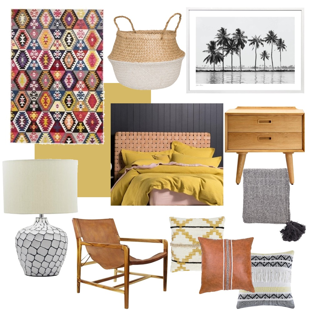 Teenage Beach Room Mood Board by The Cali Design  on Style Sourcebook