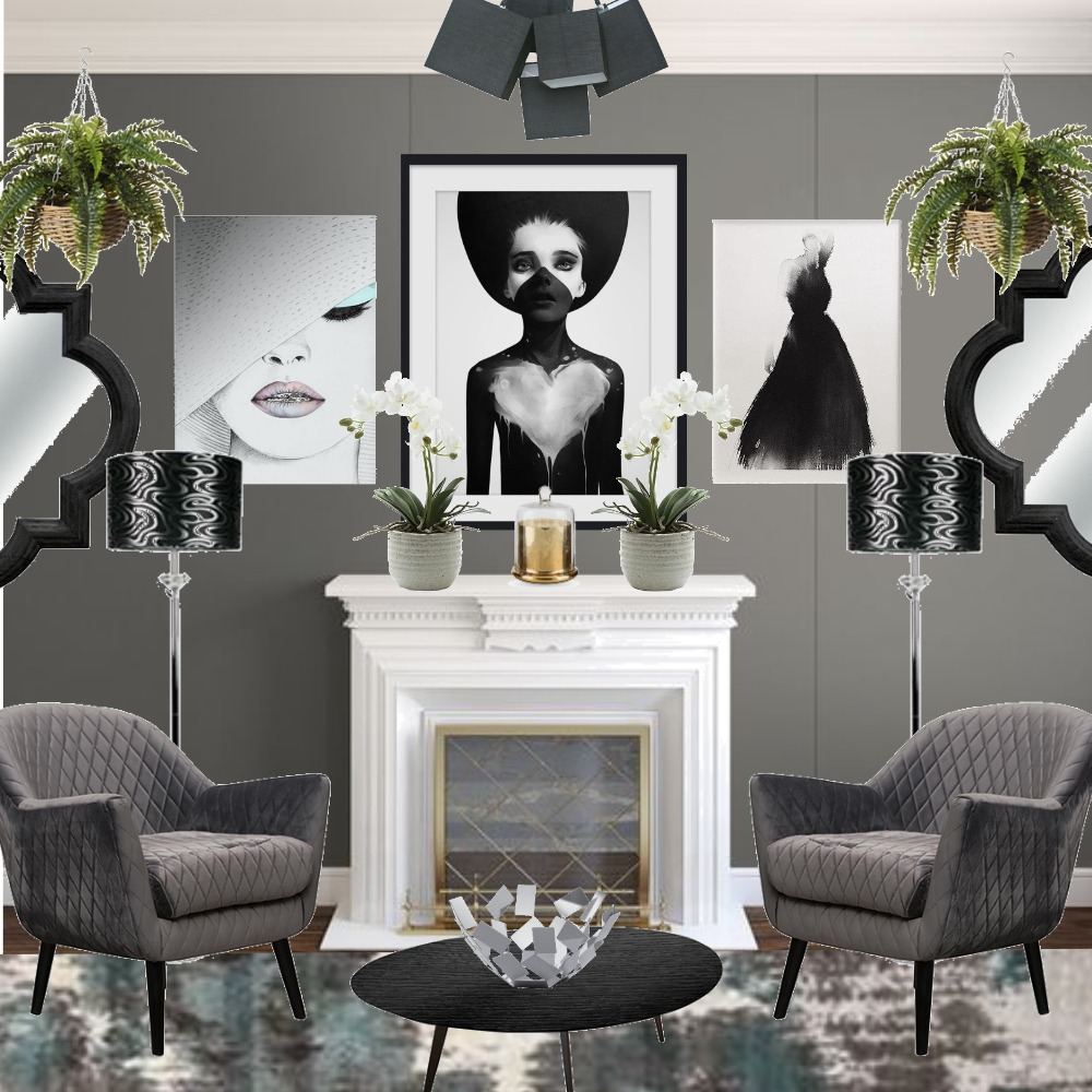 grey Interior Design Mood Board by decomatters on Style Sourcebook