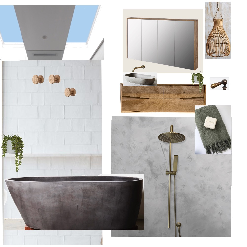 Main Bathroom Mood Board by BElovedesigns on Style Sourcebook