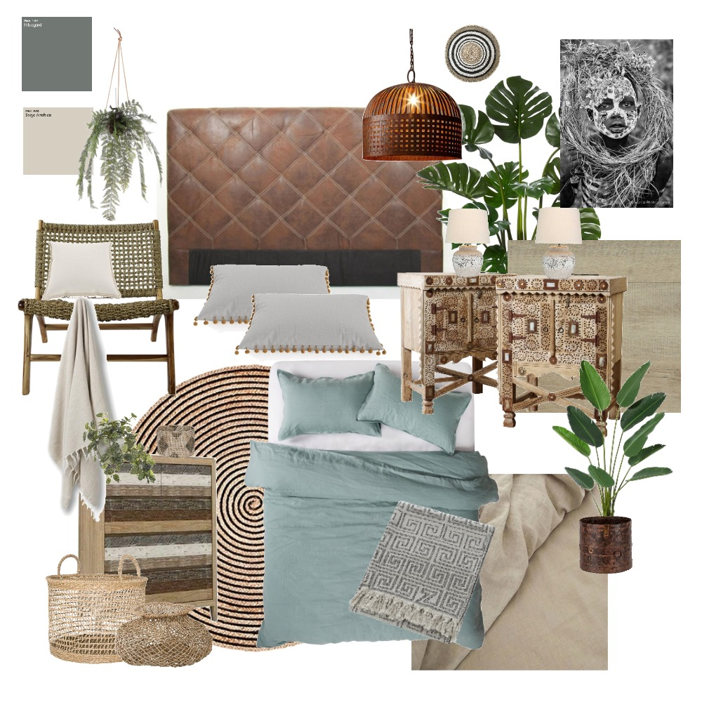 bohobedroom Mood Board by Amyhat on Style Sourcebook