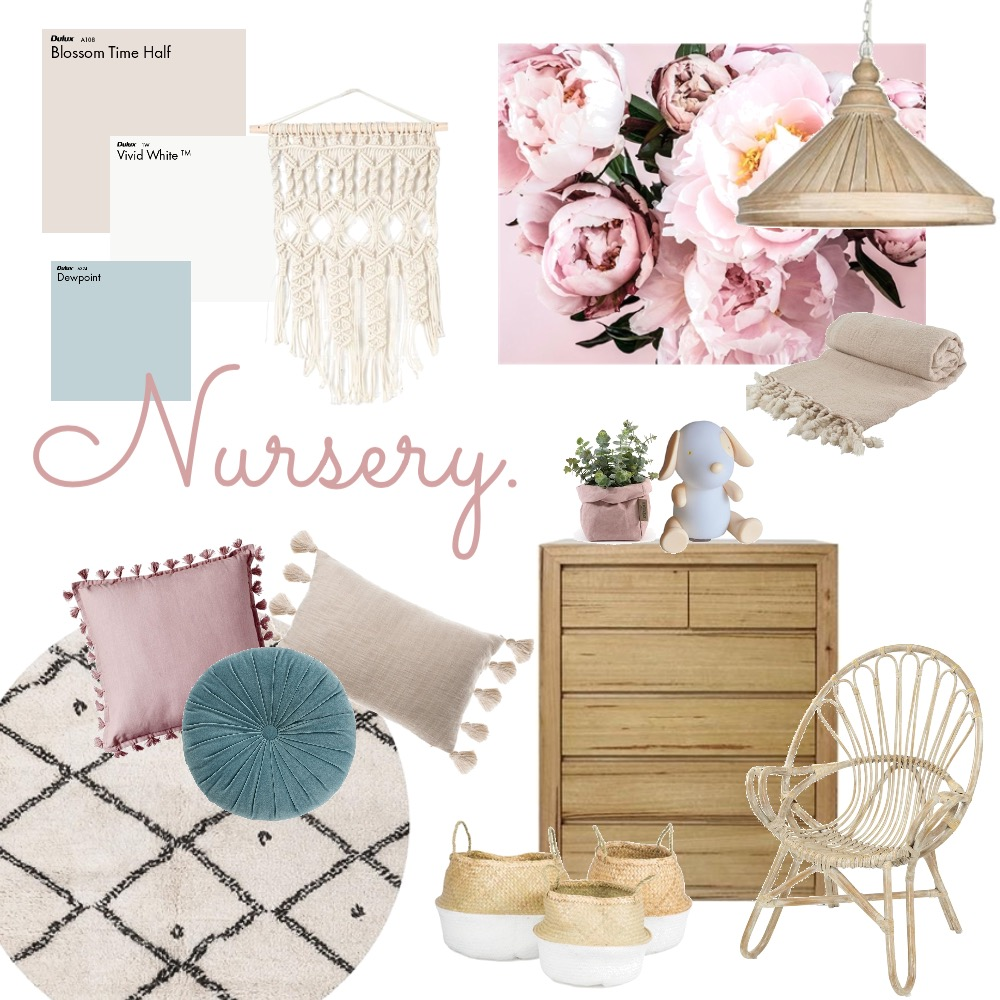 Nursery Mood Board by thebohemianstylist on Style Sourcebook
