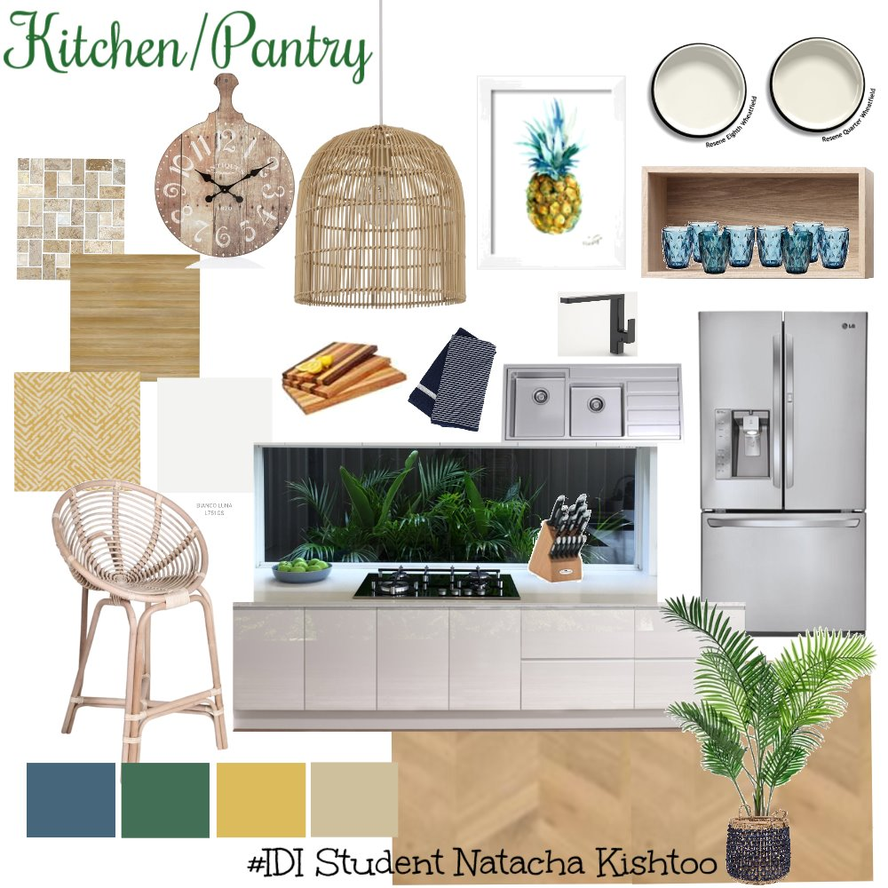 Tropical Kitchen Mood Board by Natacha on Style Sourcebook