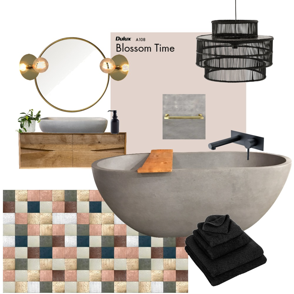 bathroom Mood Board by Reka Fabian on Style Sourcebook
