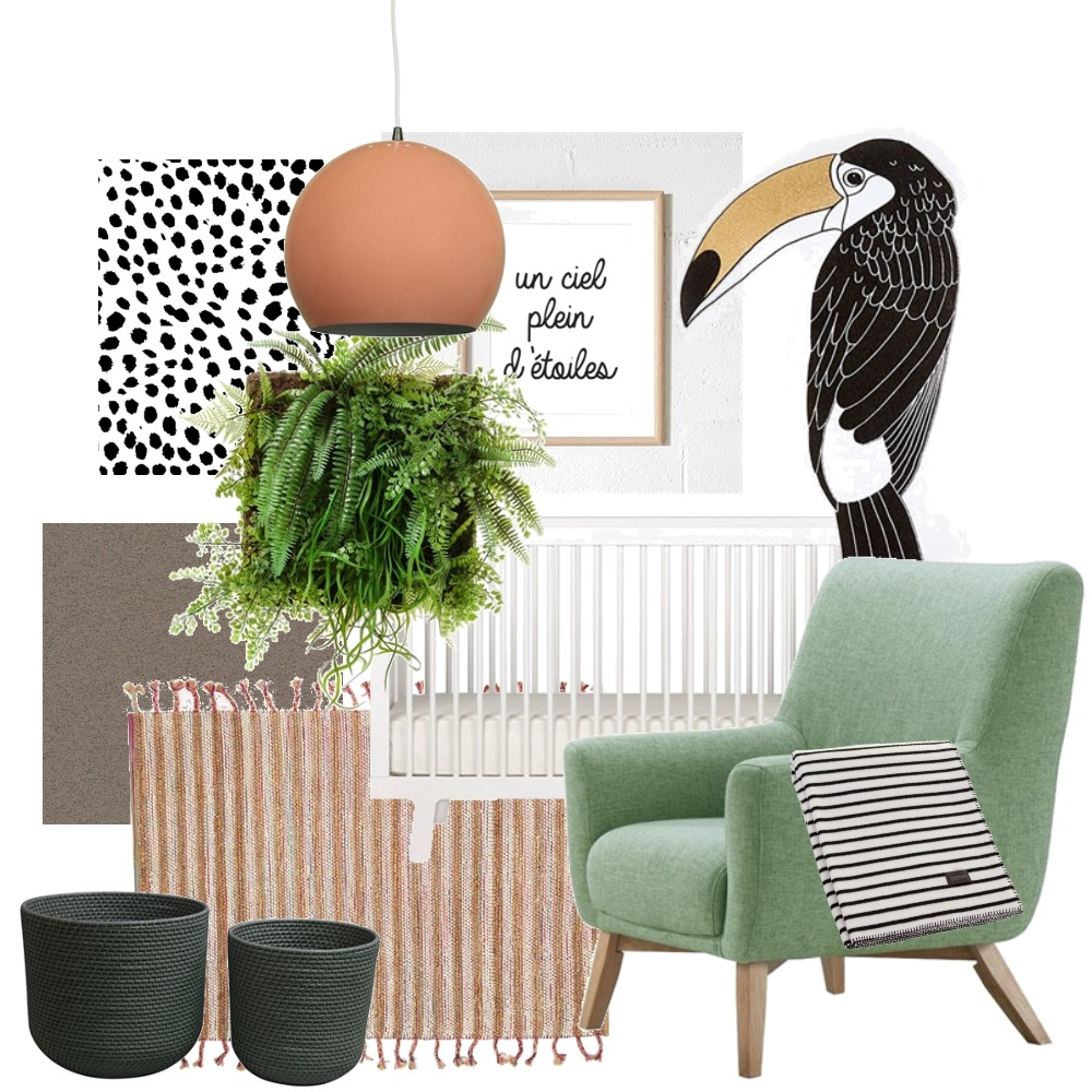 nursery with tropical vibes Mood Board by Reka Fabian on Style Sourcebook