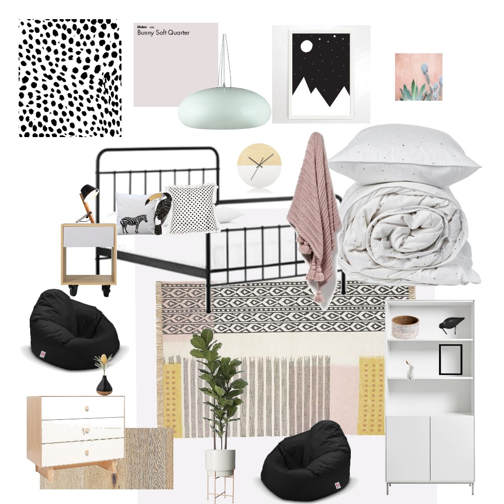 girls room Mood Board by Amyhat on Style Sourcebook