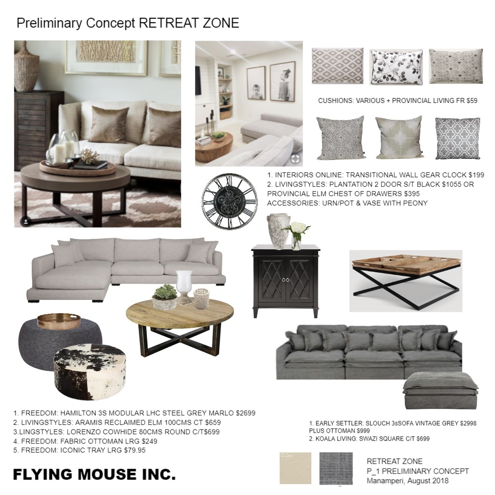 retreat Mood Board by emmi_loulalay on Style Sourcebook