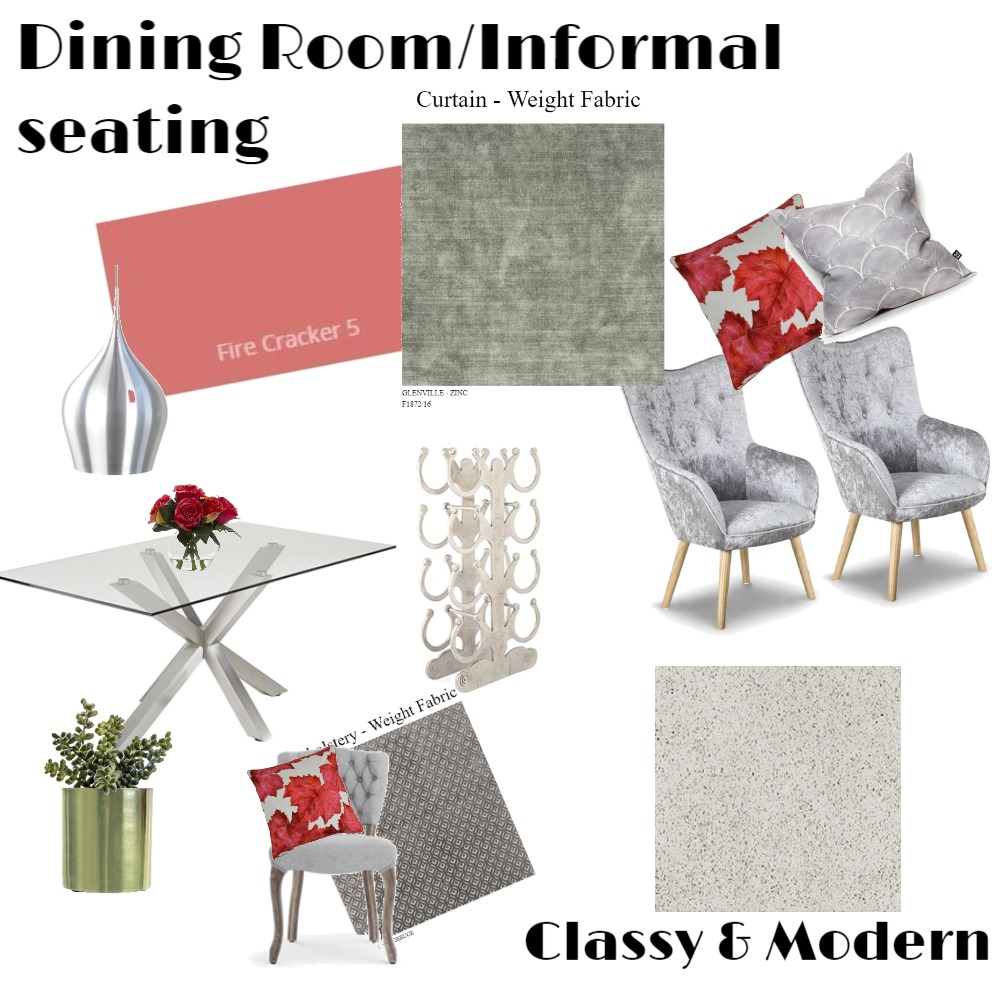 Dining Room Interior Design Mood Board by CharleneVanHeerden on Style Sourcebook