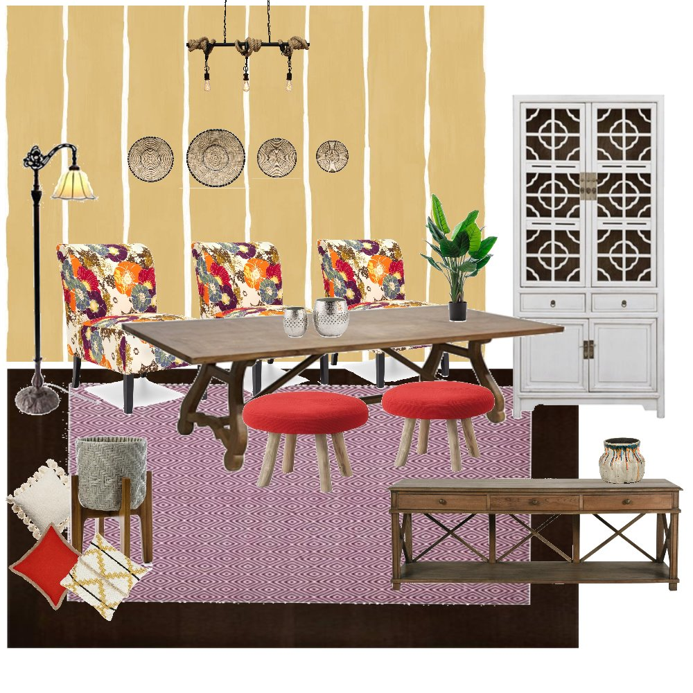 dininig mexican Interior Design Mood Board by kholoud on Style Sourcebook