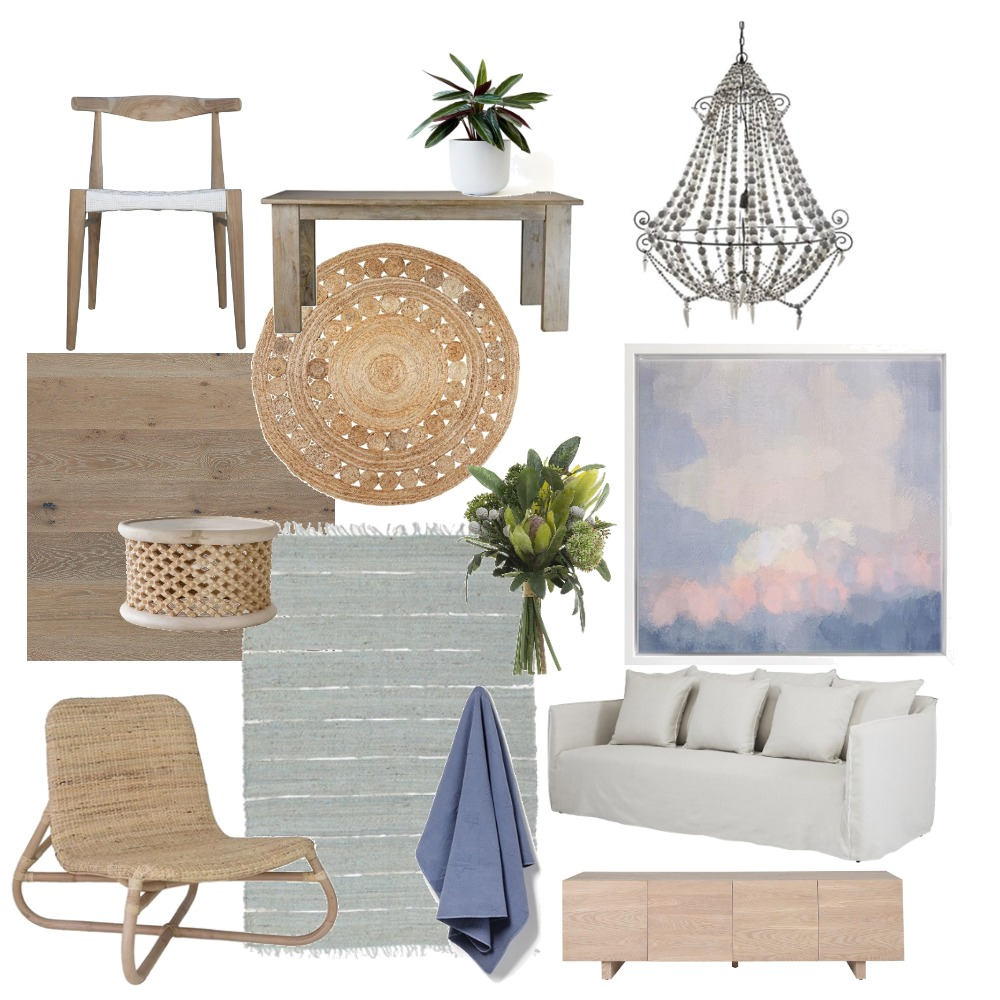 Beach House Living and Dining Interior Design Mood Board by The Cali Design  on Style Sourcebook