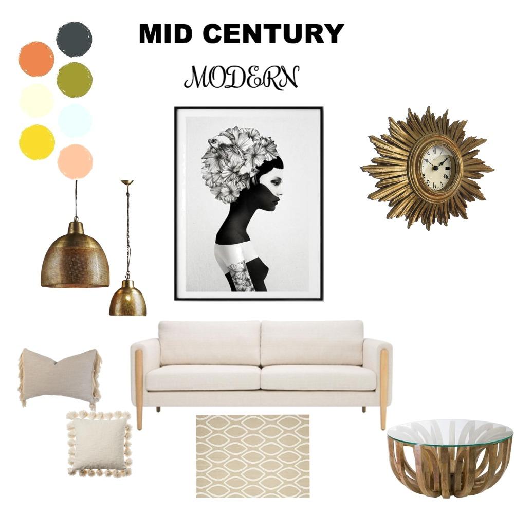 Mid Brutal Interior Design Mood Board by Natasha Mulenga on Style Sourcebook