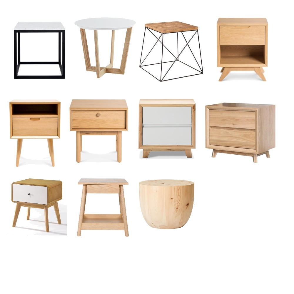 BEDSIDE TABLES Interior Design Mood Board by FrankiefoxAus on Style Sourcebook