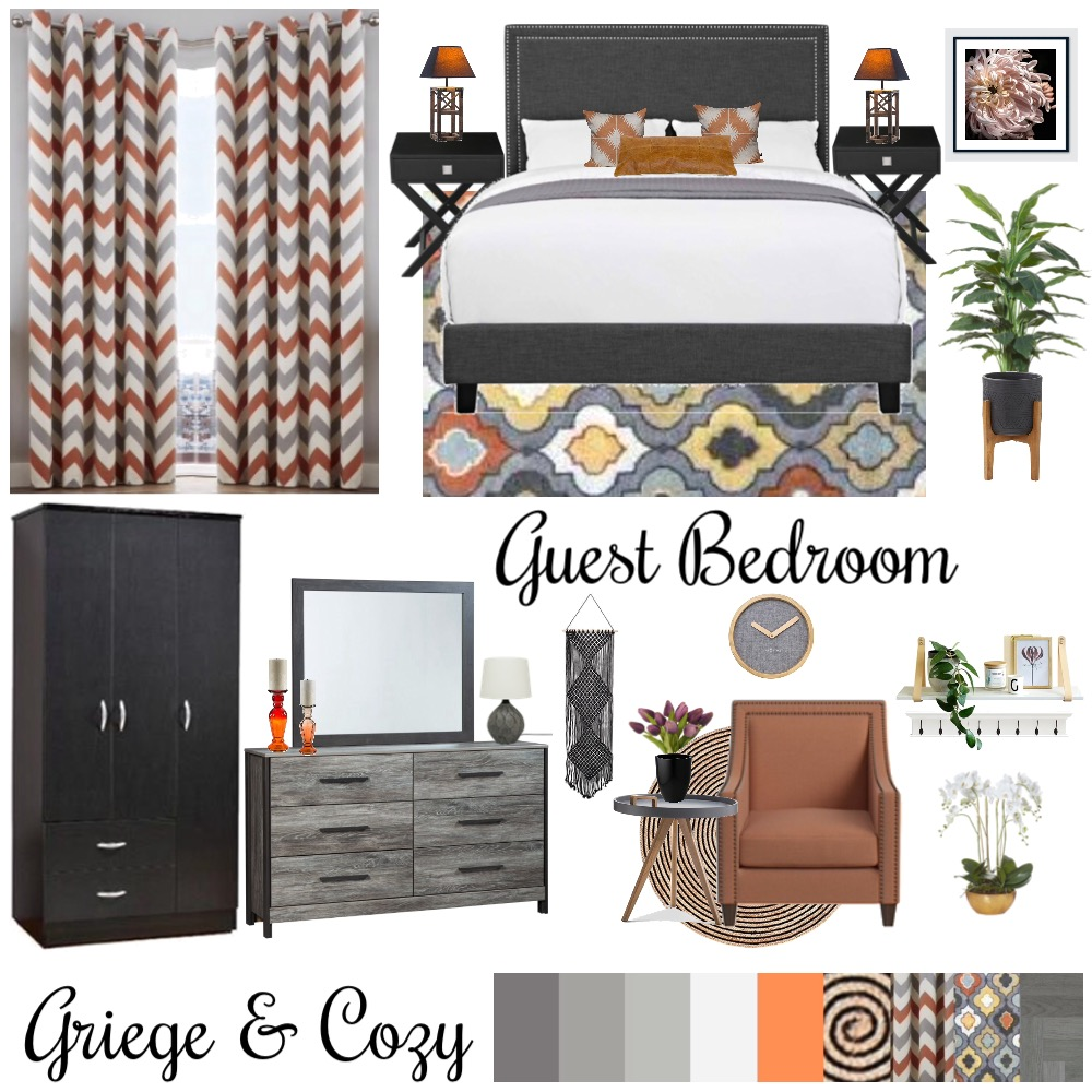 Bedroom Interior Design Mood Board by Shenzy on Style Sourcebook