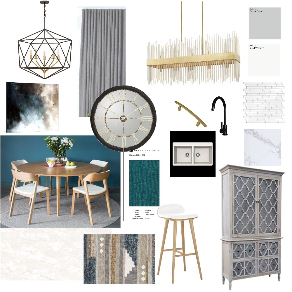 kitchen / dining Interior Design Mood Board by heidi on Style Sourcebook