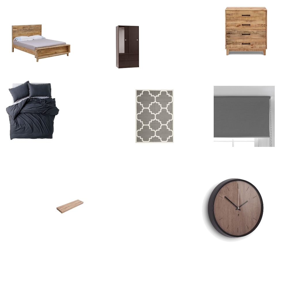 first Interior Design Mood Board by connor.odoherty on Style Sourcebook