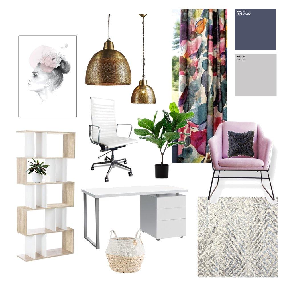Study Interior Design Mood Board by heidi on Style Sourcebook