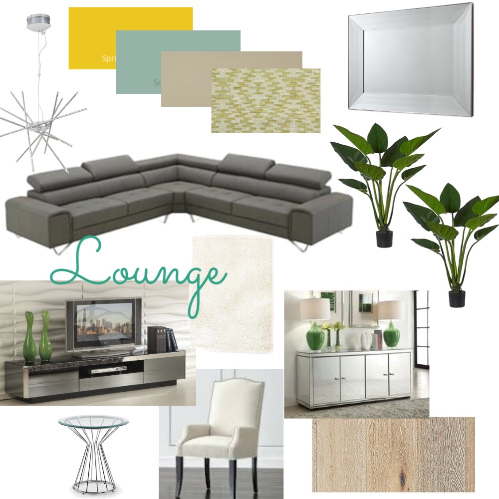 lounge Interior Design Mood Board by basheera on Style Sourcebook