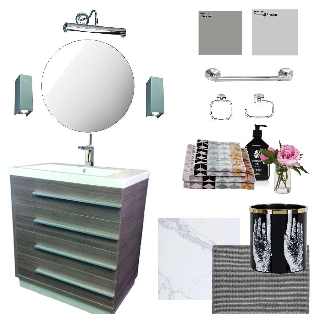 Bathroom Interior Design Mood Board by Velvet Rose Interior Designs on Style Sourcebook