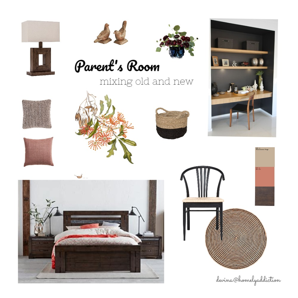 Parent's bedroom Interior Design Mood Board by HomelyAddiction on Style Sourcebook