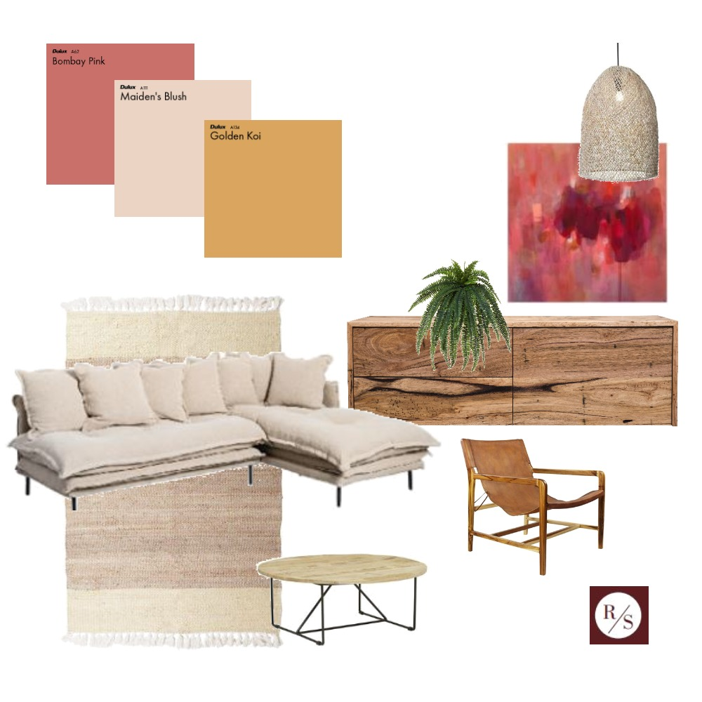 sunset living Interior Design Mood Board by Raydanstyling on Style Sourcebook