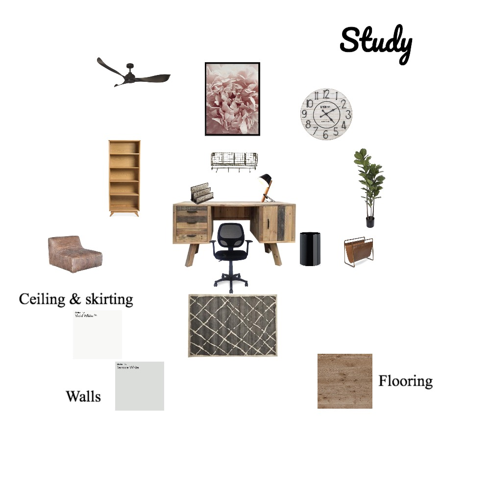 Study Mood Board Interior Design Mood Board by Mingle on Style Sourcebook