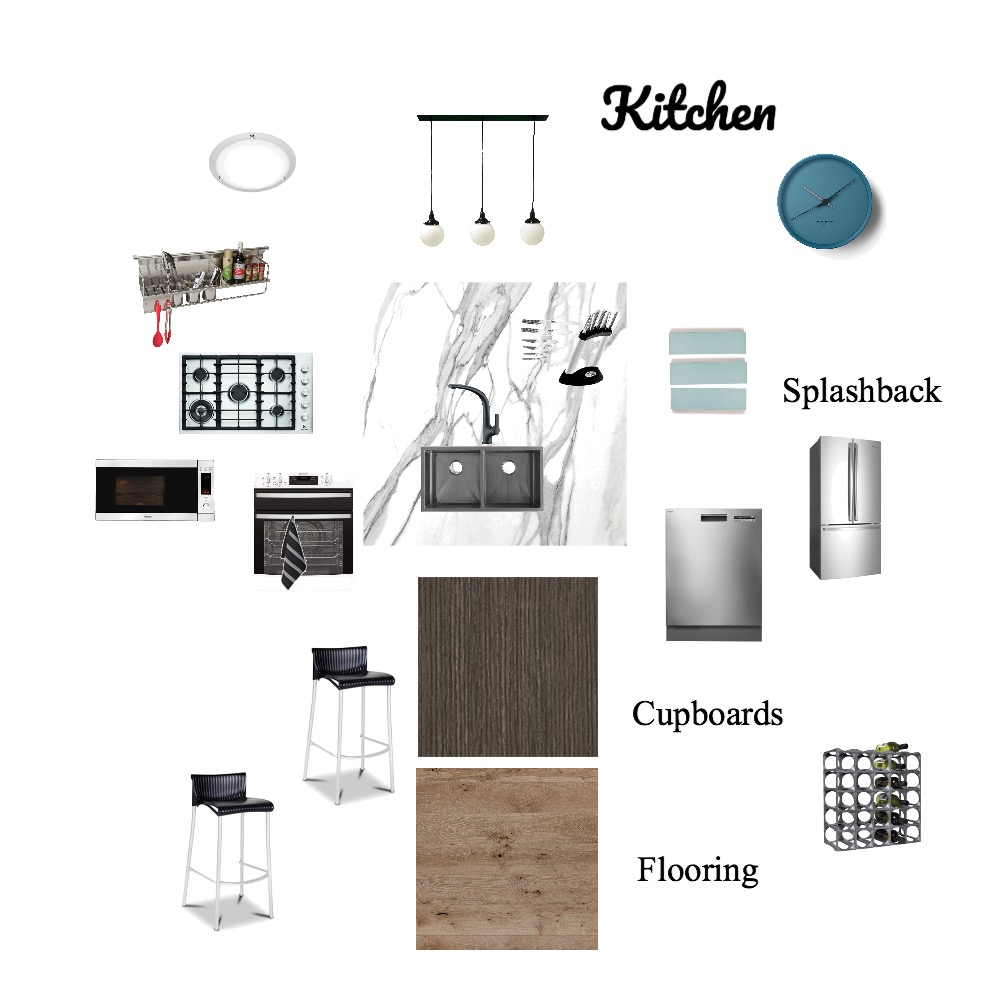 Kitchen Mood Board Interior Design Mood Board by Mingle on Style Sourcebook