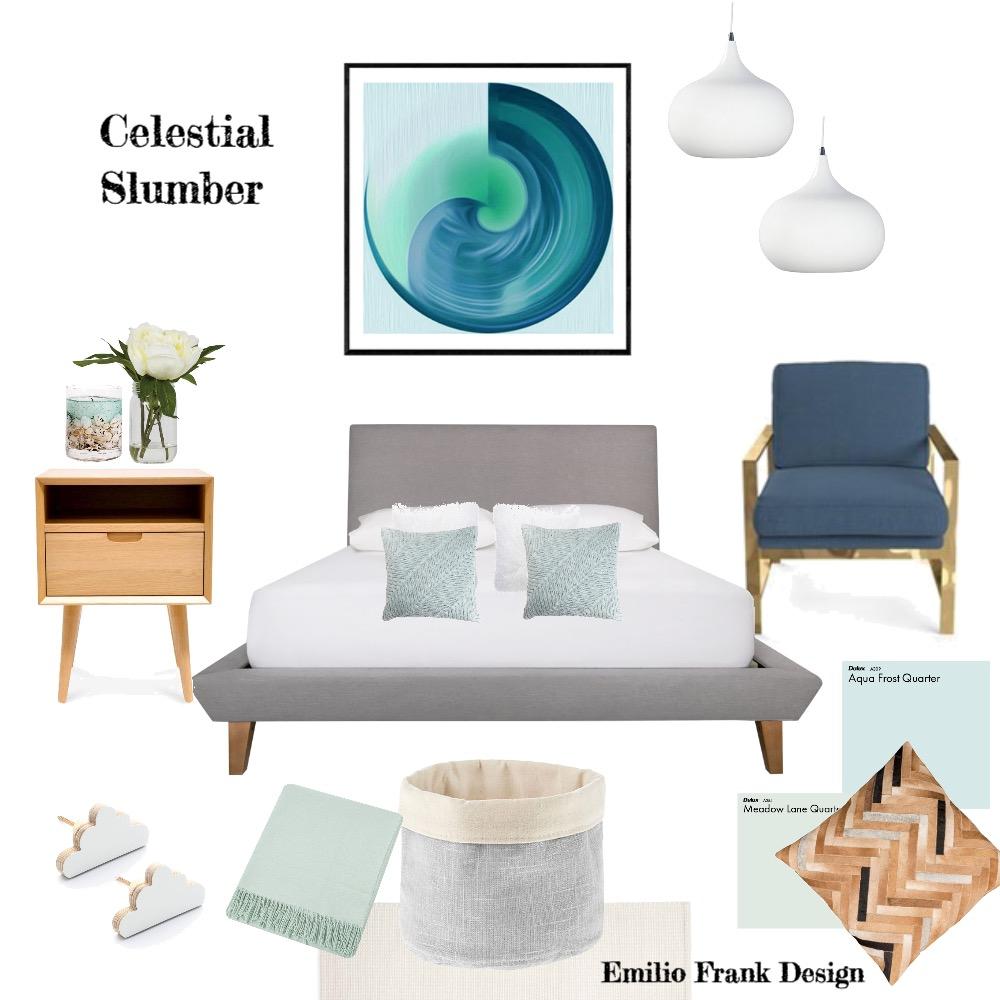 Celestial Slumber Interior Design Mood Board by Emilio Frank Design on Style Sourcebook