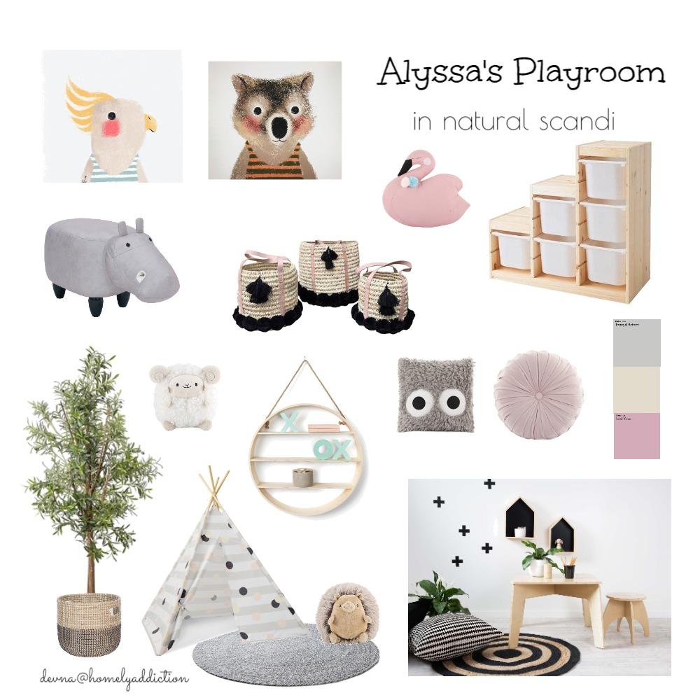 alyssa playroom Interior Design Mood Board by HomelyAddiction on Style Sourcebook