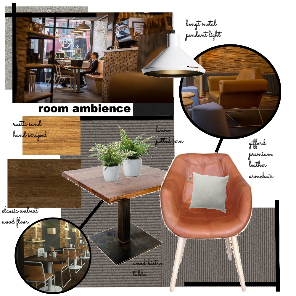cafe design Interior Design Mood Board by farrasasqia on Style Sourcebook