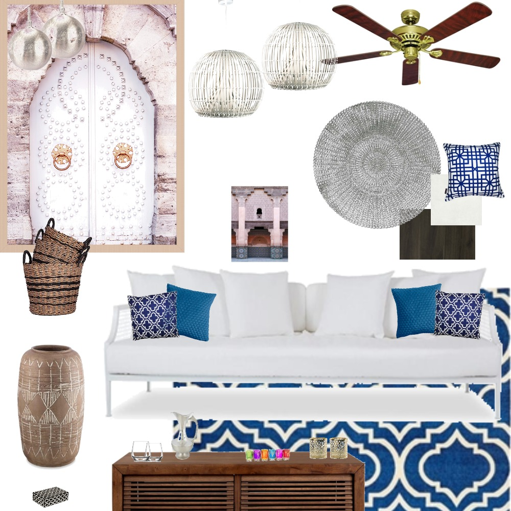 Moroccan Modern Interior Design Mood Board by Kiwistyler on Style Sourcebook