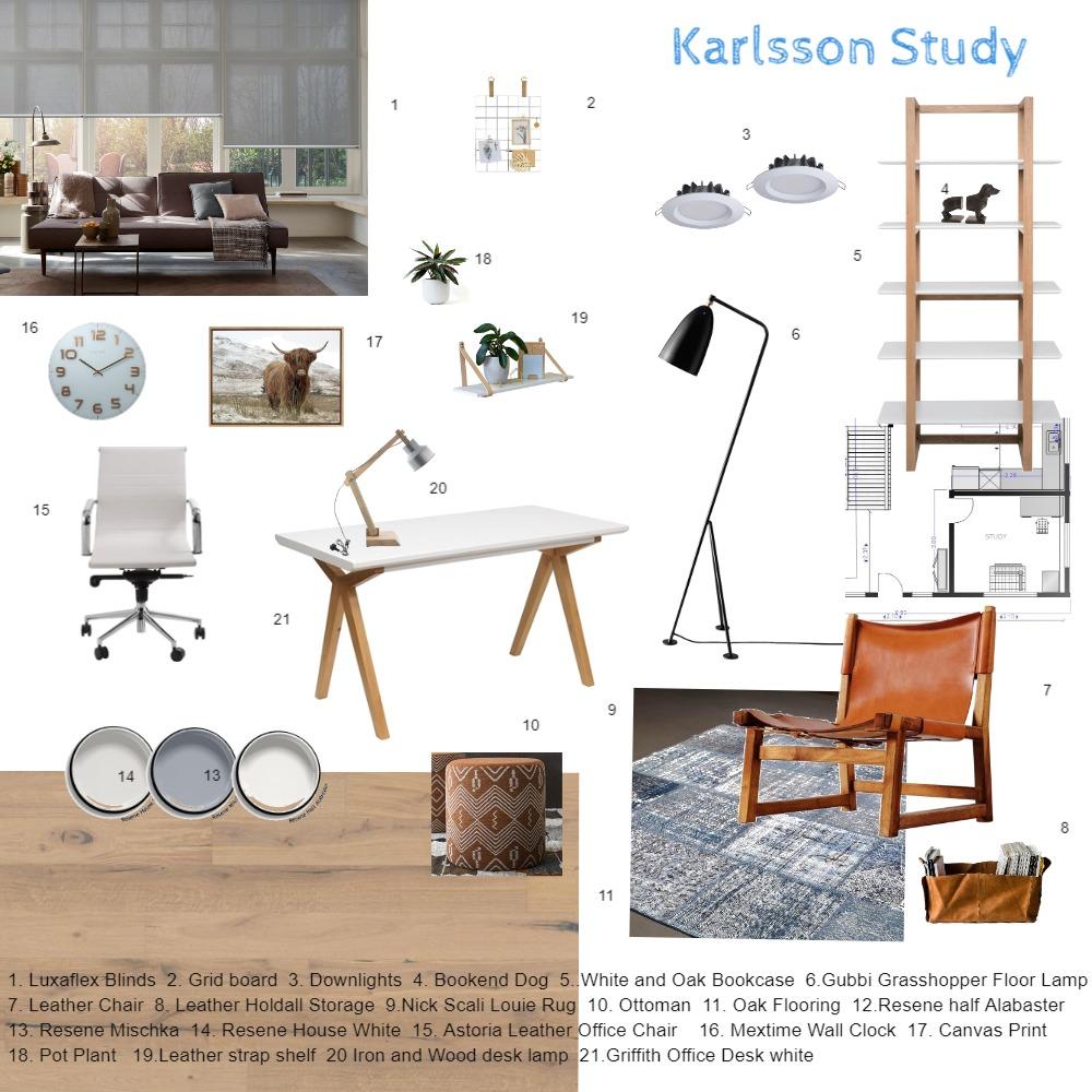 Karlsson Study Sample Board 3 Interior Design Mood Board by Kiwistyler on Style Sourcebook