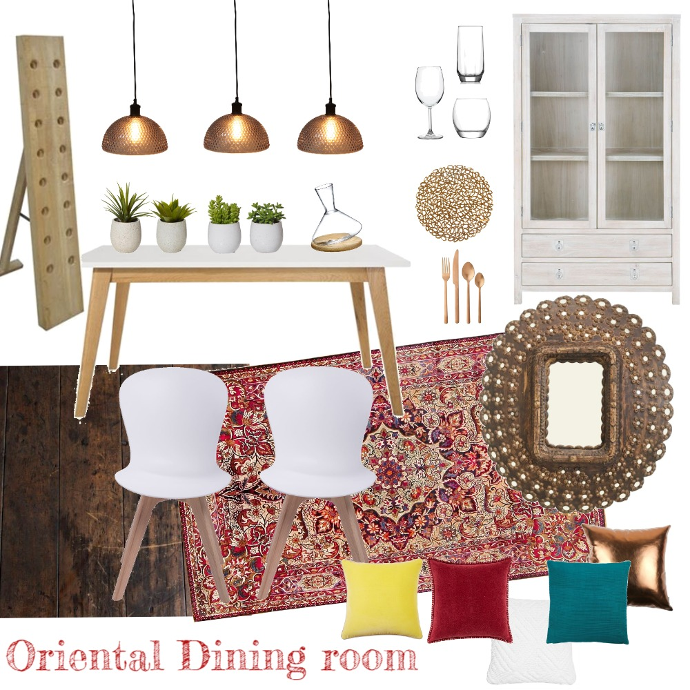 dining room Interior Design Mood Board by iDesign Interiors on Style Sourcebook