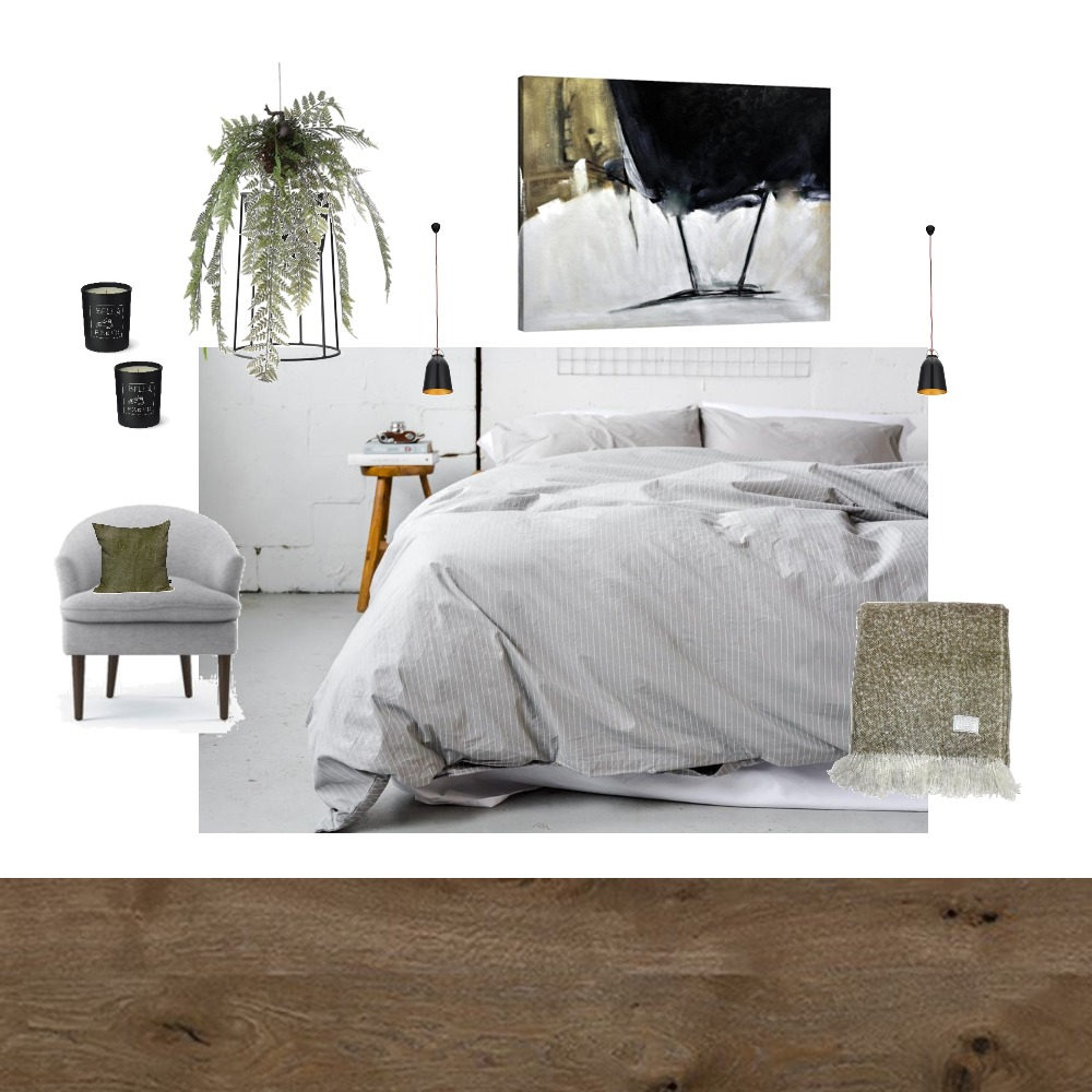 Grey Bedroom Interior Design Mood Board by Alana on Style Sourcebook