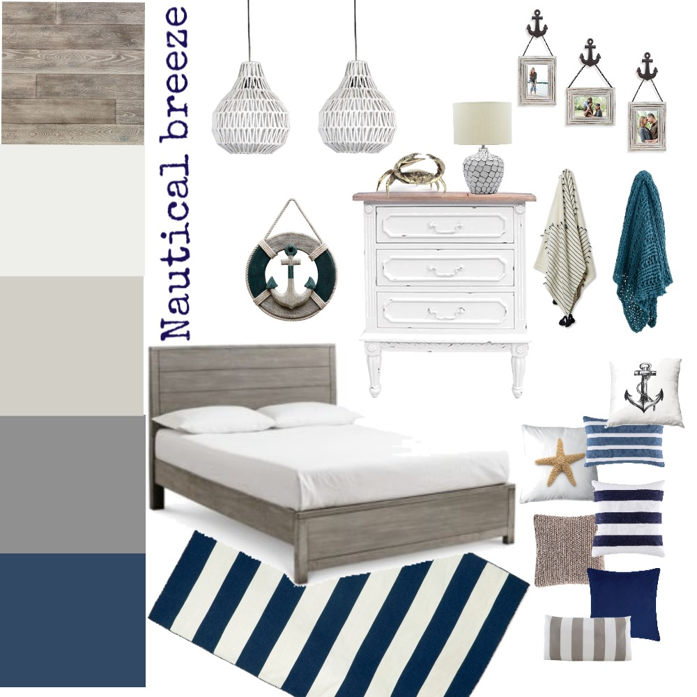 Nautical Breeze Interior Design Mood Board by iDesign Interiors on Style Sourcebook