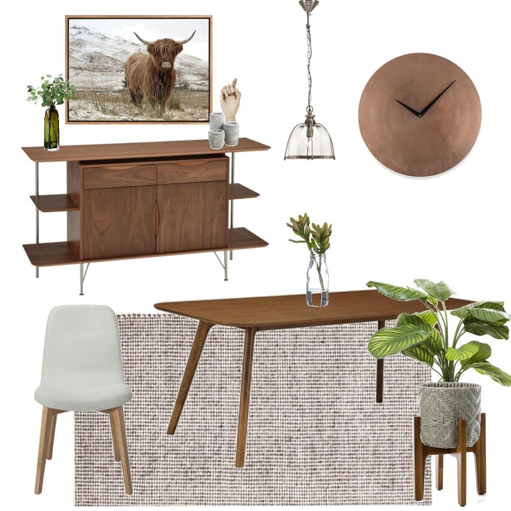 Mid Century Dining Interior Design Mood Board by braydee on Style Sourcebook