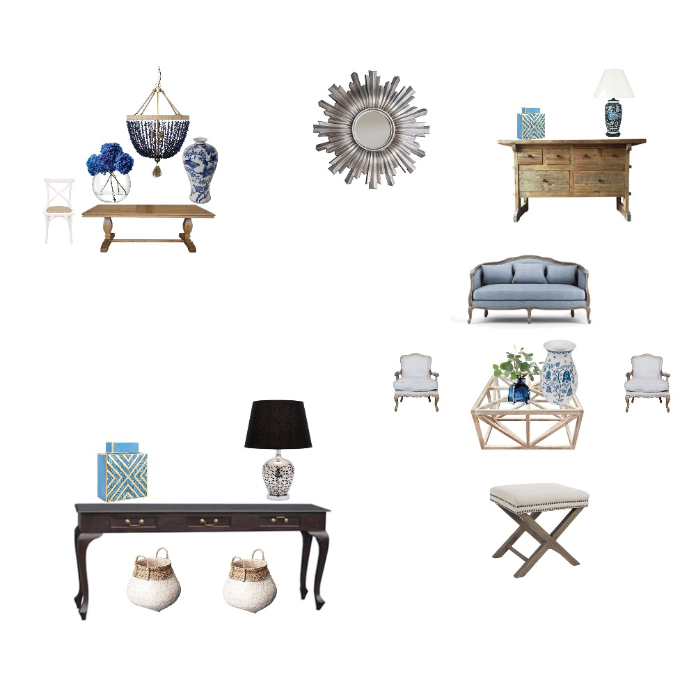 salon Frances Interior Design Mood Board by camino on Style Sourcebook