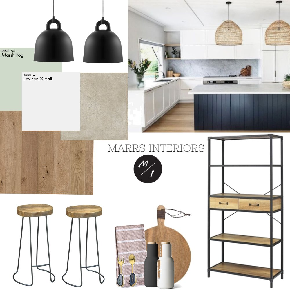 Modern Kitchen Interior Design Mood Board by marrsinteriors on Style Sourcebook