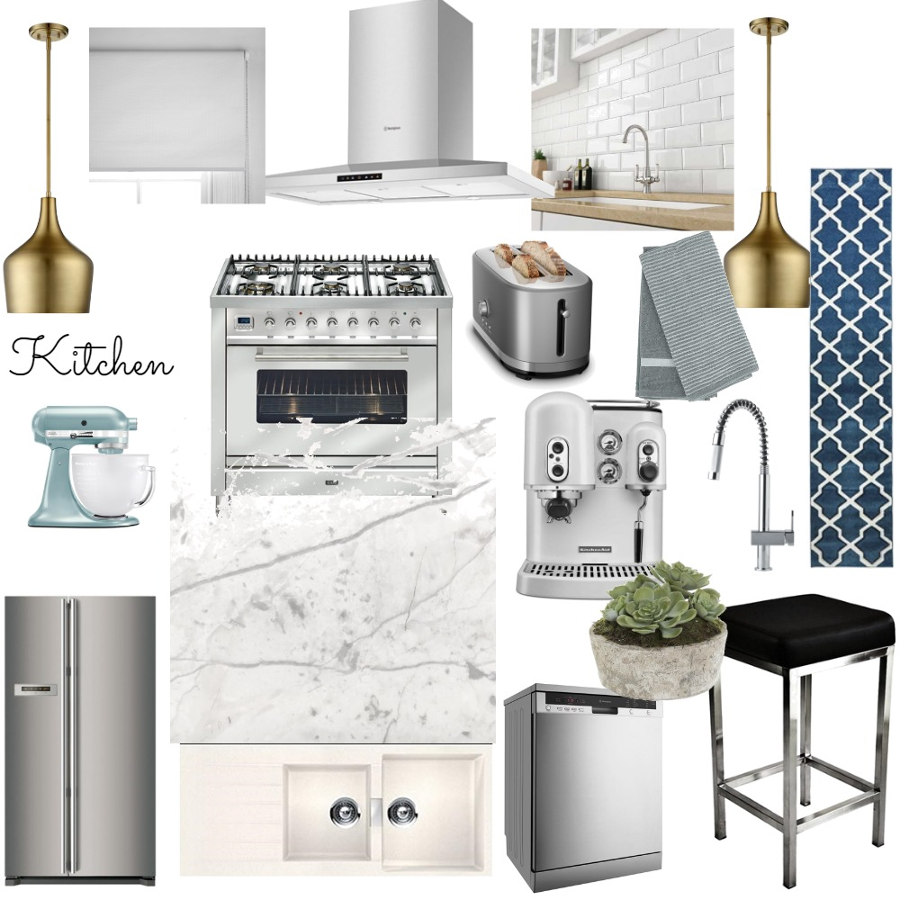 Bee's Kitchen Interior Design Mood Board by bolajiT on Style Sourcebook