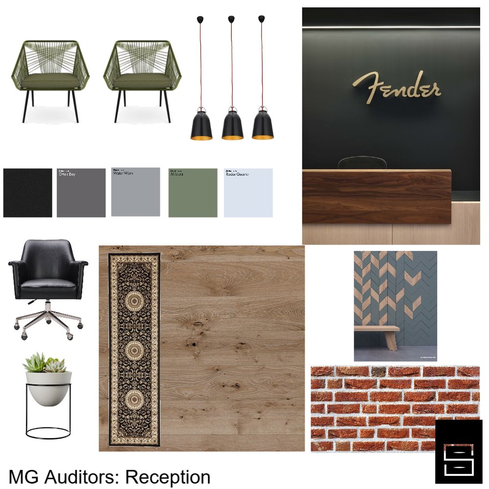Reception Interior Design Mood Board by Marlene on Style Sourcebook