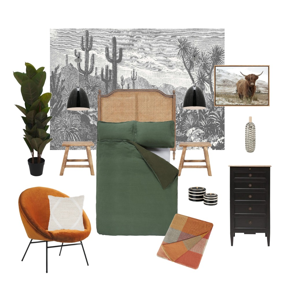 Wild Luxe Interior Design Mood Board by Wallpaper Trader on Style Sourcebook