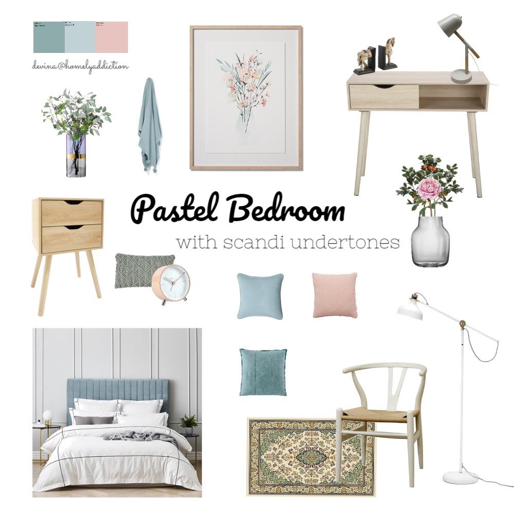 Bedroom remodel pastel ver 2 Interior Design Mood Board by HomelyAddiction on Style Sourcebook